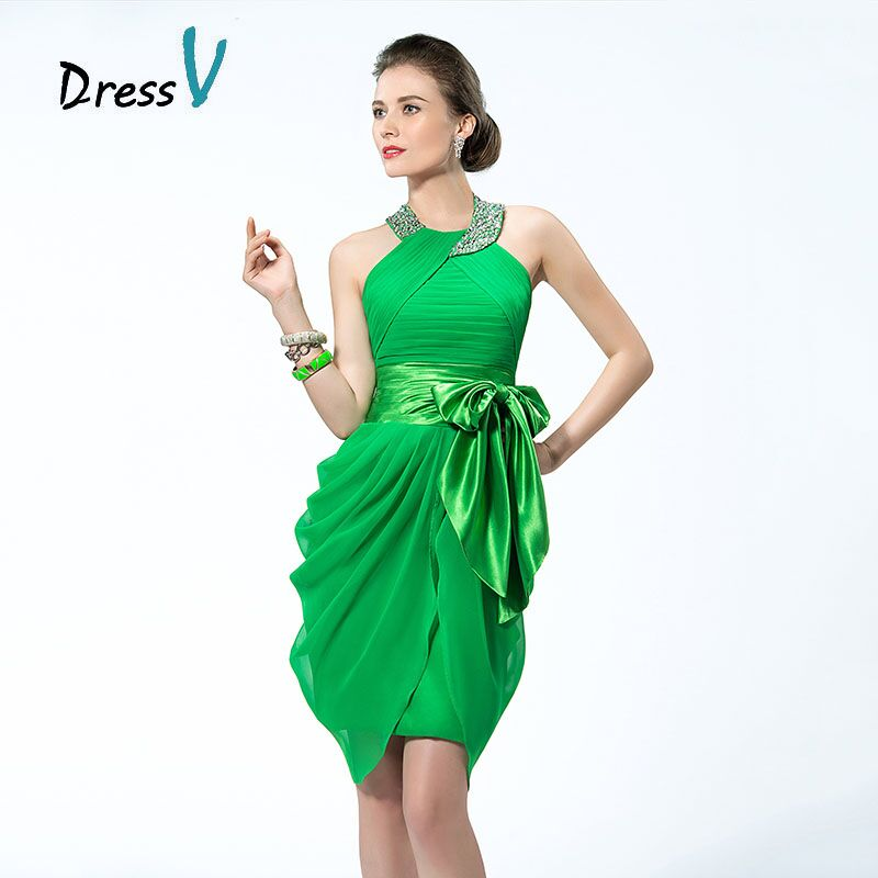 Green Cocktail Dresses - Dress Xy