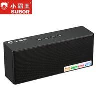 Subor 100% New Original D88 Mini Bluetooth Speaker Portable Wireless Speakers Sound System 3D Stereo Music Surround