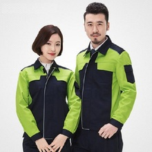 Work Clothing Men Women Uniform Long Sleeve Coveralls Protective Cloth Overalls for Worker Repairman Machine Auto Repair Welding(China)