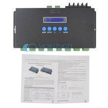 Artnet naar SPI/DMX pixel licht controller; BC-216 Eternet protocol ingang; 340 pixels * 16CH + twee poorten (2X512 Kanalen) uitgang; DC5V-24V(China (Mainland))