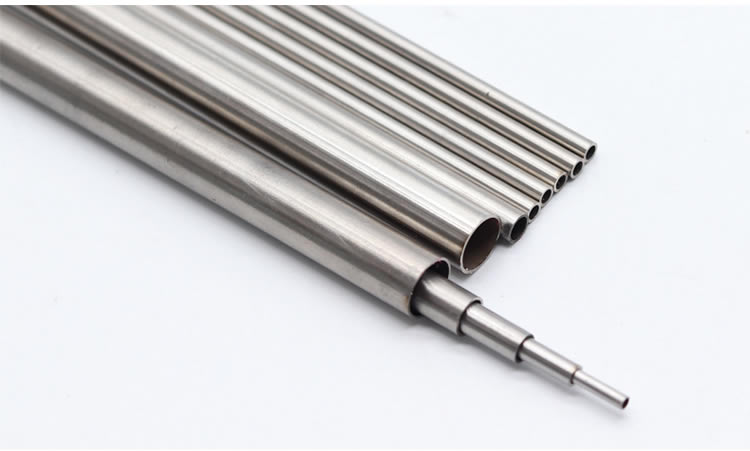 Customized Product,Seamless 316L Pipe Tube ,  Polished Surface  Internal And External,10x0.5mm,100mm Length , 40pcs