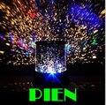 Increíble parpadeante luz de la noche estrellas Colorful Sky amo de la estrella proyector encantador estrellada Holiday lámpara LED envío gratis 10 unids/lote