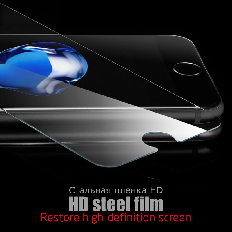 CASPTM Protective Tempered Glass For iPhone 7 8 6 6S Plus X XR XS Max Screen Protector Ultra-thin Clear Guard Cover Front Film