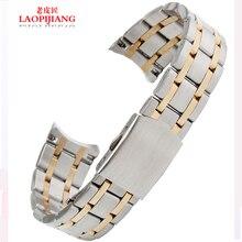 Lao pijiang pulsera de acero inoxidable 19 mm de acero para hombre mariposas volando ultra delgado relojes accesorios