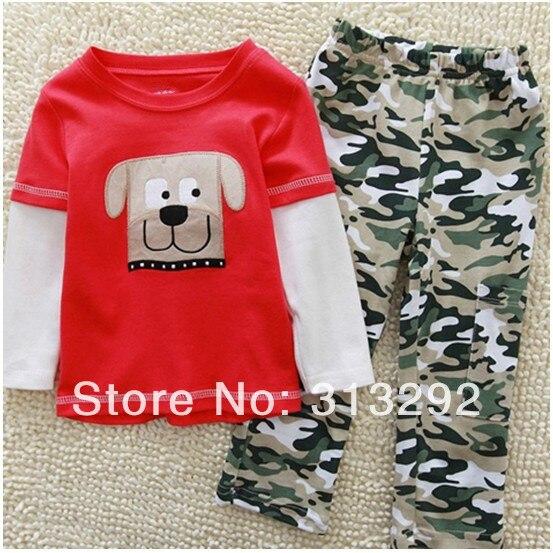 Popular Boys Camo Pajamas-Buy Cheap Boys Camo Pajamas lots from ...