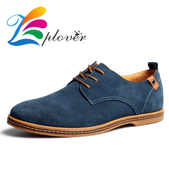 Zplover 2016 New Men Shoes Casual Synthetic Genuine Leather Brand Man Shoes  Spring Autumn Winter Oxford 368873a30a99