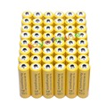 48x AA 3000mAh 2A 1 2 V Ni-MH желтая аккумуляторная батарея для MP3 RC игрушки