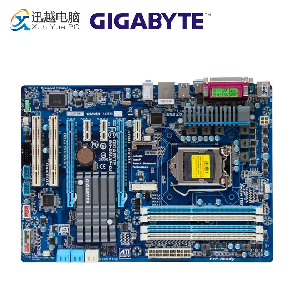 Gigabyte GA-Z68AP-D3 Desktop Motherboard Z68AP-D3 Z68 LGA 1155 i3 i5 i7 DDR3 32G SATA3 ATX adriatica часы adriatica 3177 1213q коллекция twin