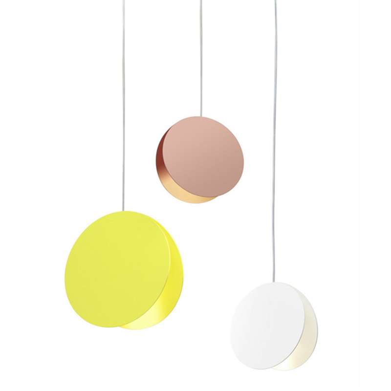 Modern Rope LED Pendant Lamps Lights Nordic Colorful Restaurant Coffee Bedroom Iron Pendant Lights Home Indoor Lighting Fixtures