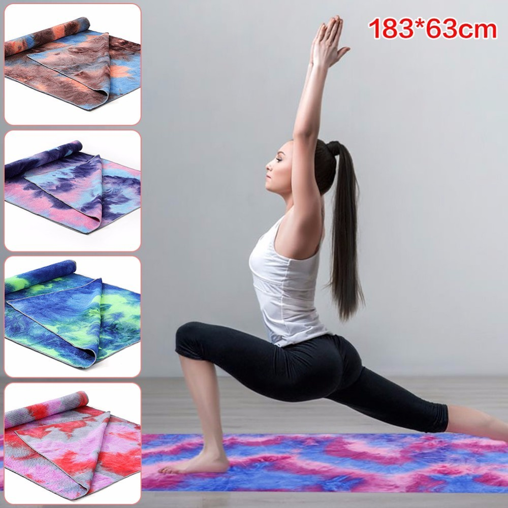 183x63cm Non Slip Yoga Towel Soft Travel Sport Fitness