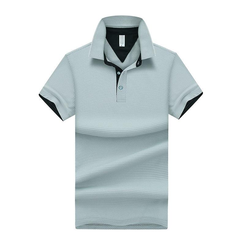 Men/'s Polo Shirts Summer Short Sleeve T Shirt Slim Casual Solid Dress Shirt Tops