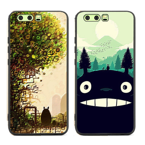 official photos 987f5 1a668 US $4.09 18% OFF|For huawei honor 9 /honor 9 lite /V9/V10 case My Neighbor  Totoro cartoon anime soft silicon plastic cover phone bags-in Fitted Cases  ...