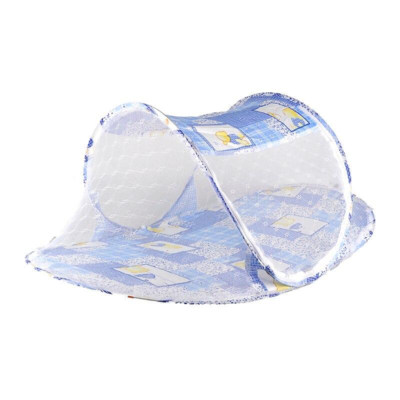 2019 Neuestes Design 3 Farbe Tragbare Folding Camping Outdoor Krippe Netting Bettwäsche Kinderwagen Baby Krippe Moskito Net Zelt Bett Reise Für Infant Neugeborenen