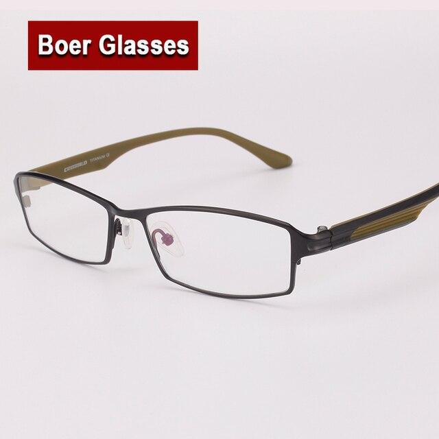 cb37c5a2e9 New Titanium Optical Eyeglasses male eye glasses RX Eyewear Men Full Rim Glasses  Prescription Spectacle frame 0003