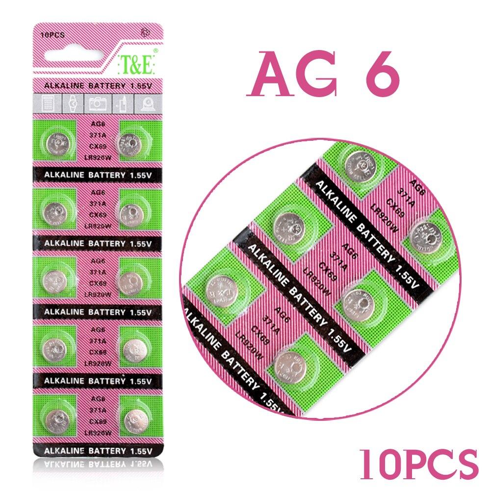 c69a6c5f865 ++ YCDC Para brinquedos relógio relógios câmeras ++ Alta Potência 2018 20  pcs ag6 371 d371 605 sr69 sr920sw alcalina botão bateria de célula tipo  moeda