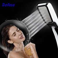 Dofaso chuveiro de mão 300 buraco pressurizado poupança água chuveiro cabeça alta pressão abs chuveiro do banheiro chuveiro de mão spray