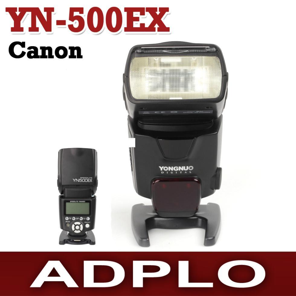 YONGNUO YN500EX TTL HIGH-SPPEED SYNC FLASH SPEEDLITE suit For Canon 1D/7D/5DIII/5DII/650D/600D/550D/1100D/1000D/500D yongnuo yn 560iv yn560 iv flash speedlite for canon eos 5d mark ii iii 7d 5d 50d 40d 500d 550d 600d 650d 1000d 1100d 450d 400d