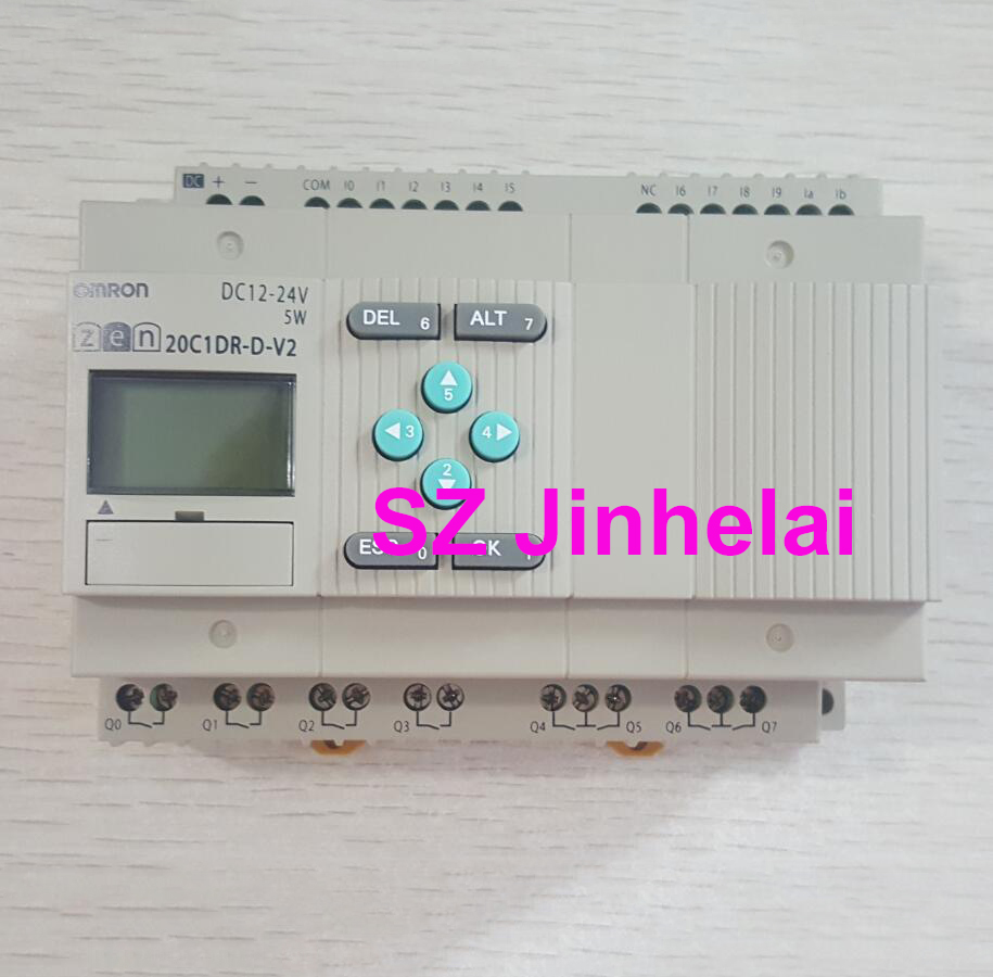 Authentic original ZEN 20C1DR D V2 OMRON Programmable relay DC12 24V