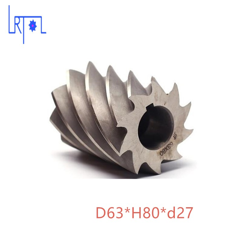 HHS Cylindrical milling cutter D63*H80*d27 high speed steel Milling tool запчасти и аксессуары для радиоуправляемых игрушек no 10 hhs 100 rc