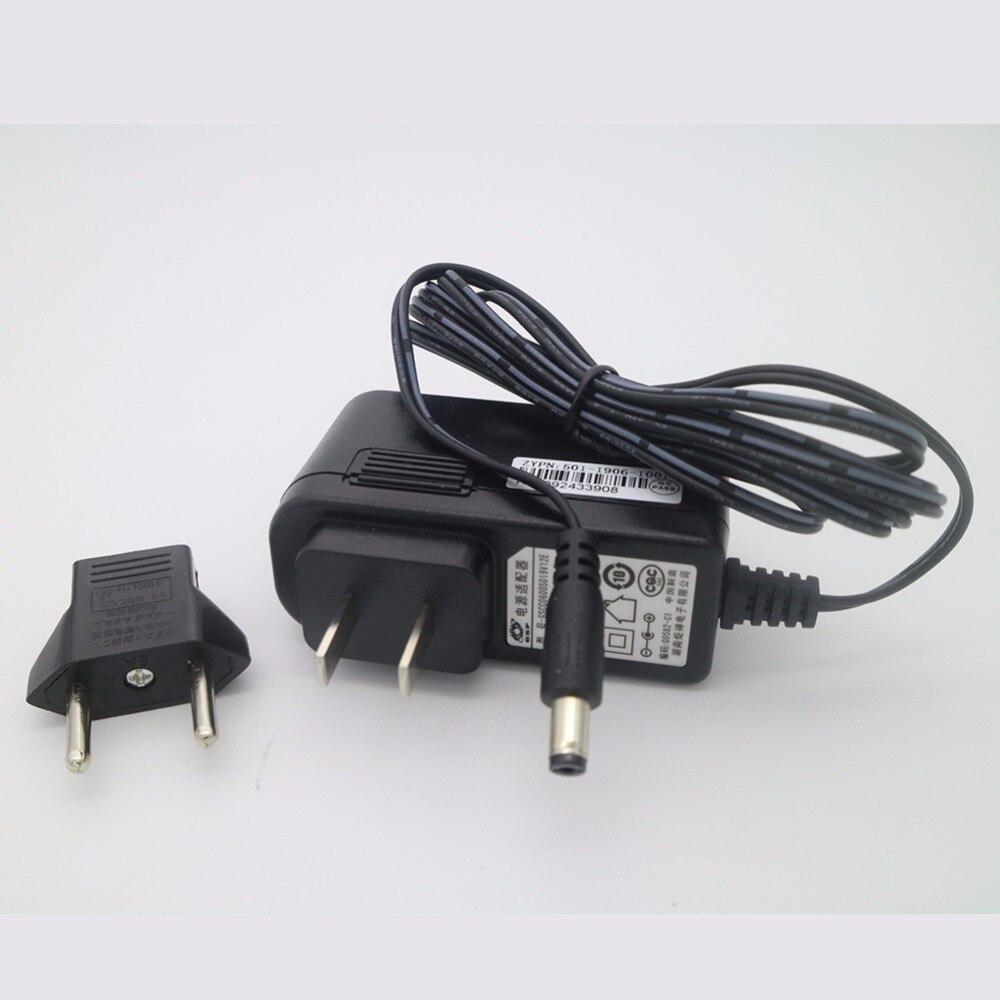 D'origine 19 V 0.6A US Plug UE Adaptateur chargeur Aspirateur Pièces pour ilife x5 v5 v5s v3 v5 pro a4s a4 a6 Robot Aspirateur Cleaner