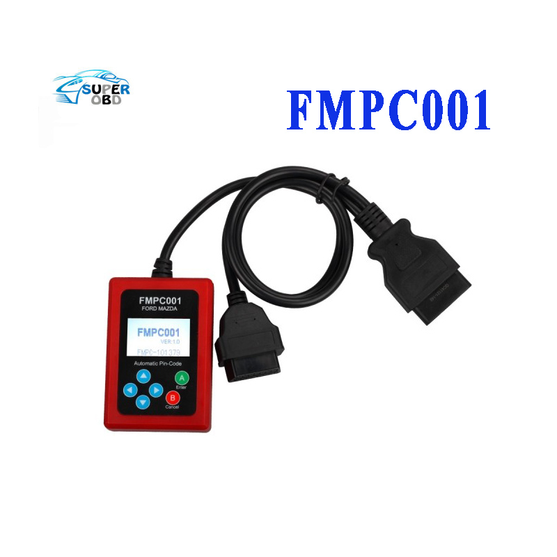 2016 FMPC001 for-Ford-Mazda Incode Calculator FMPC001 Pincode Caculator V1.5 Without Token Limitation with Free Shipping