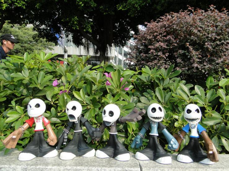 Rare 5pcs 18.5cm Top Quality Jack skeleton action figure collection doll.soft rubber The nightmare before christmas Jack toy d0 new animation tim burton the nightmare before christmas jack skellington bobble head cute 11cm action figure href