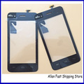 Original New Black Mobile Phone Touch Screen For Wiko Sunset Digitizer Sensor Glass Front Glass Outer Lens Touch Panel