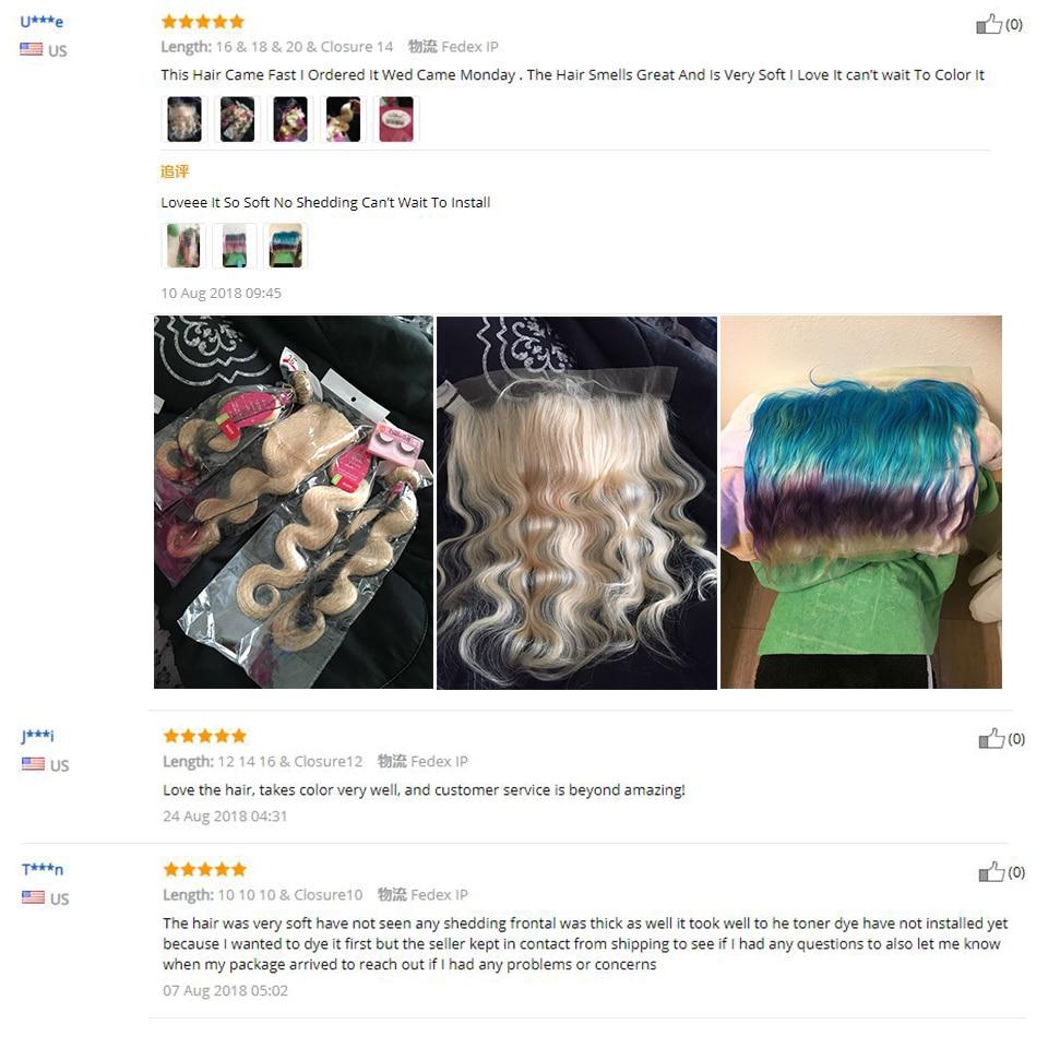 HTB1GLoyXN rK1RkHFqDq6yJAFXaB Vallbest 613 Bundles With Frontal Brazilian Body Wave 3 Bundles With Closure Remy Human Hair Blonde Bundles With Frontal Closure