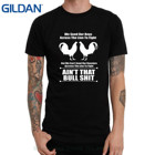 GILDAN White O Neck Cotton T-shirt Almeer Short Game Rooster Gallos Gamefowl Fight 1 Mens T-shirt One Side Shirt