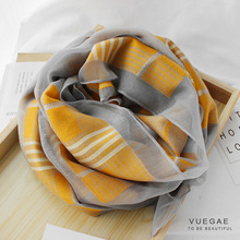 2020 Silk Wool Scarf Scarves For Women Fashion Print Shawls And Wraps Lady Hijabs Foulard Bandana Female Pashmina Beach Stoles