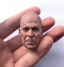 цена на 1/6 Bruce Willis head battle version die hard for hot toys phicen action figure toys