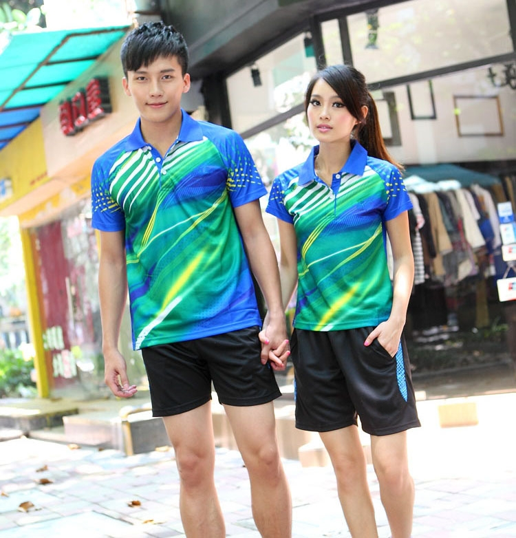 Breathable quick-drying Table tennis Jersey,Table shirts shorts ,Badminton wear sweatshirt - Sports Monopoly store