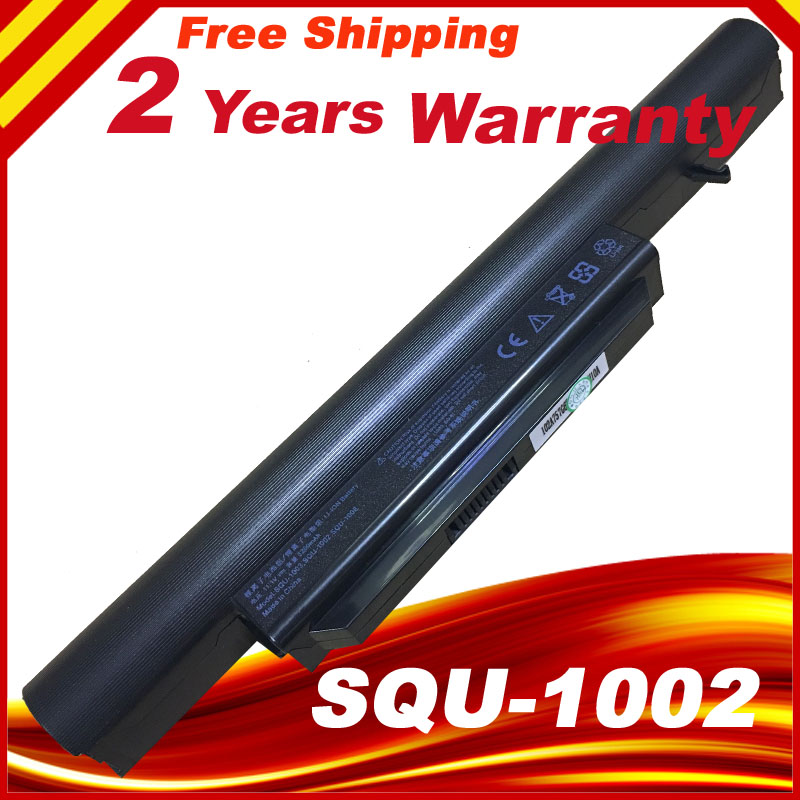 Battery for HASEE A560P K580P HAIER T520 R410 R410U R410G SQU-1003 SQU-1002 916T2134F CQB913 CQB912 3UR18650-2-T0681 SQU-1008 шэньчжоу hasee элегантный 14 дюймов супер ноутбук