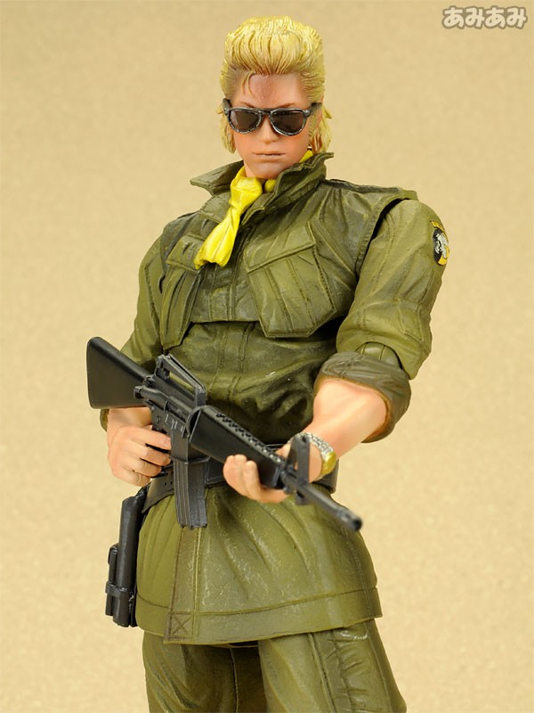 ФОТО Metal Gear Solid Action Figures Peace Walker Miller Play Arts Kai PVC Toys 260mm Anime Metal Gear Peace Walker Playarts Kai