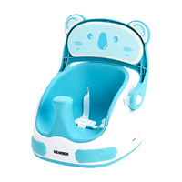 Baby Dining Chair Child Cartoon Panda Eating Seat Portable Multi function Learning Sitting Child Baby Dinette