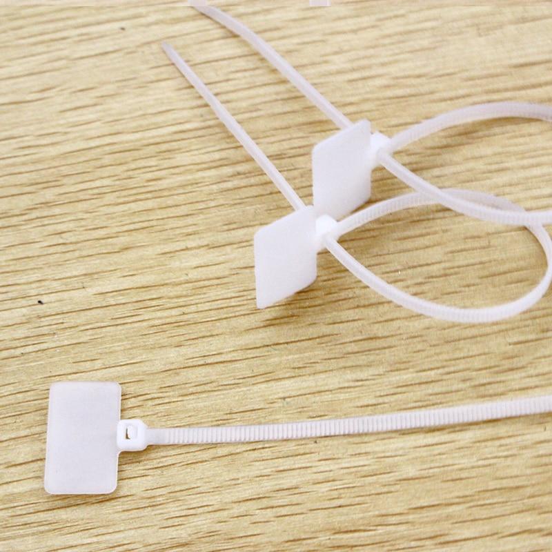 30 teile/beutel 25mm * 210mm Nylon kabelbinder tags für Auf Ethernet ...