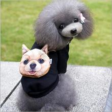 100% Cotton Clothes For Small Large Dogs Winter/Antumn Pet Dog Coat Winter Clothes Jackets with Snack bags Cute Dog Puppy Warms