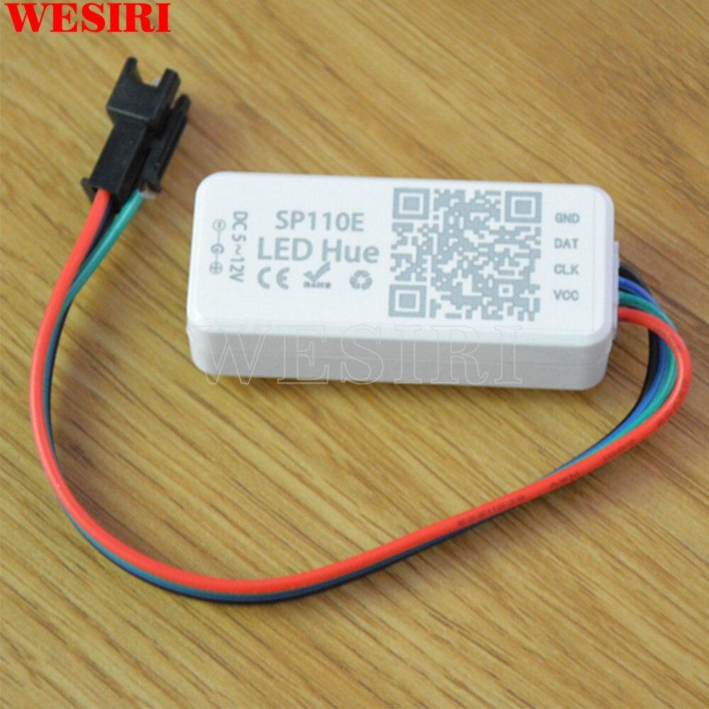 Beleuchtung Zubehör Realistisch Sp110e Bluetooth Pixel Led-controller Gesteuert Durch Smart Telefon App Für Ws2811 Ws2812b Sk6812 1903 Led Streifen Lichter Dc5-12v Rgb-controller
