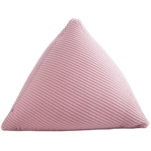 Cylindrical Nordic Pillow Knitted Triangle Minimalist Decor Kids Cushions Rosa Cojines Infantiles Decoracion Living Room 60KOA82 knitted cushions