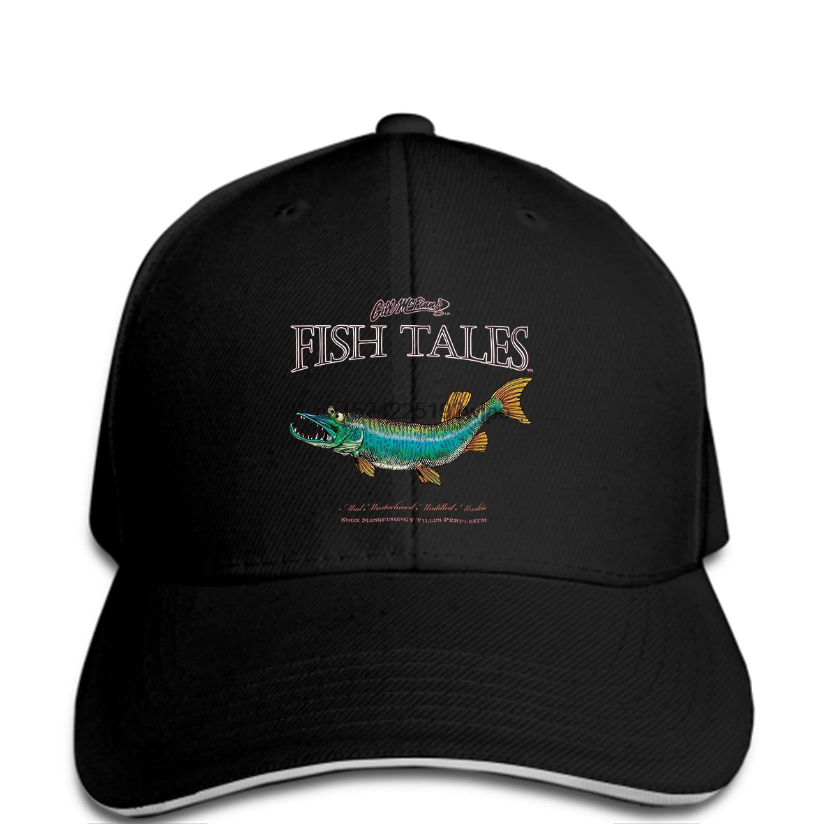 dc958cd4b11dc Detail Feedback Questions about Funny Men Baseball cap Women novelty cap  Fish Tale Fishing Muskie Lure Sporting Good cap on Aliexpress.com