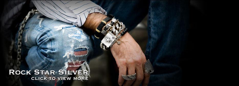 H Rockstar Silver