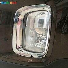 Для KIA Sorento 2013 2014 ABS Chrome передние противотуманные фары противотуманки лампы крышка планки противотуманных фар Benzel крышки отделки Авто Стикеры 2 шт.