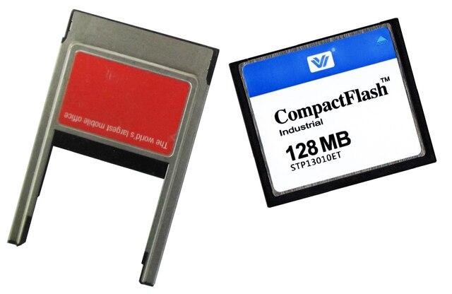 COMPACT FLASH CARD 128 МБ Cf-карты 128 МБ С PCMCIA PC card адаптер