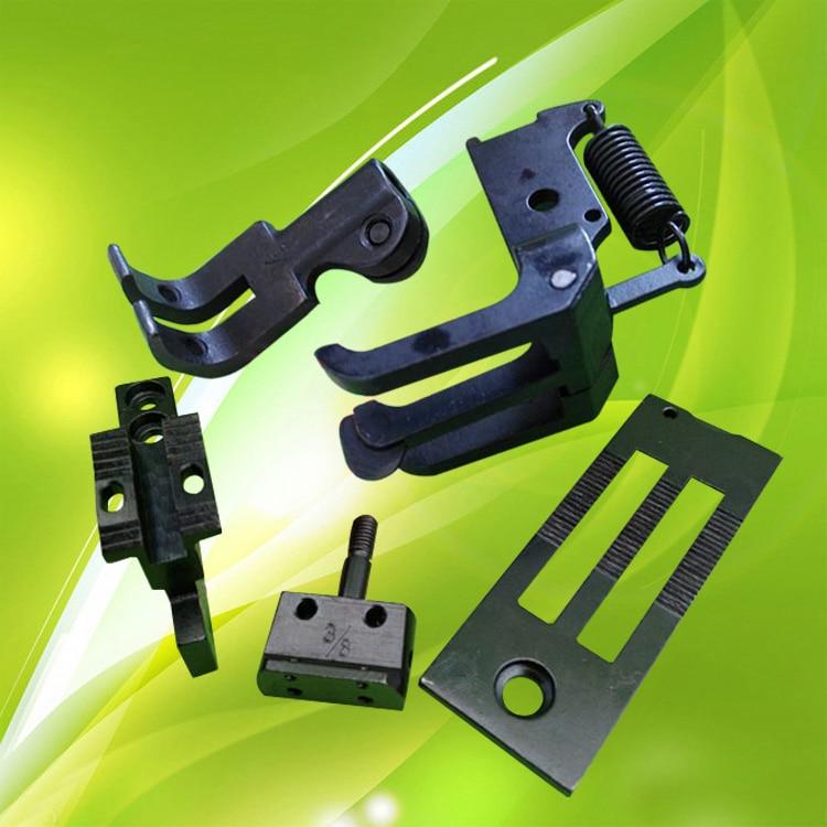 Makinë qepëse industriale 20606 / DU tre makina gjilpërë sinkrone të dyfishtë aktivitet shtypi këmbë me thikë 3/8 pin bit