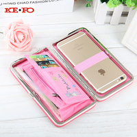 Portemonnee Case Voor Iphone X Luxe Vrouwen Portemonnee portemonnee Universele Telefoon Case Cover Iphone 8 Coque Voor Iphone 8 Plus 7 Plus 6 S 5 S