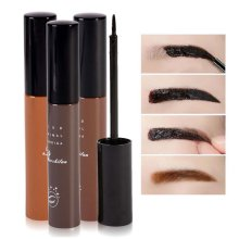 Best Price  Makeup Cosmetics 3 Colors Waterproof Dye Eyebrow Mascara Cream Eye Brow Gel Make Up Kit Make It Natural/Thick