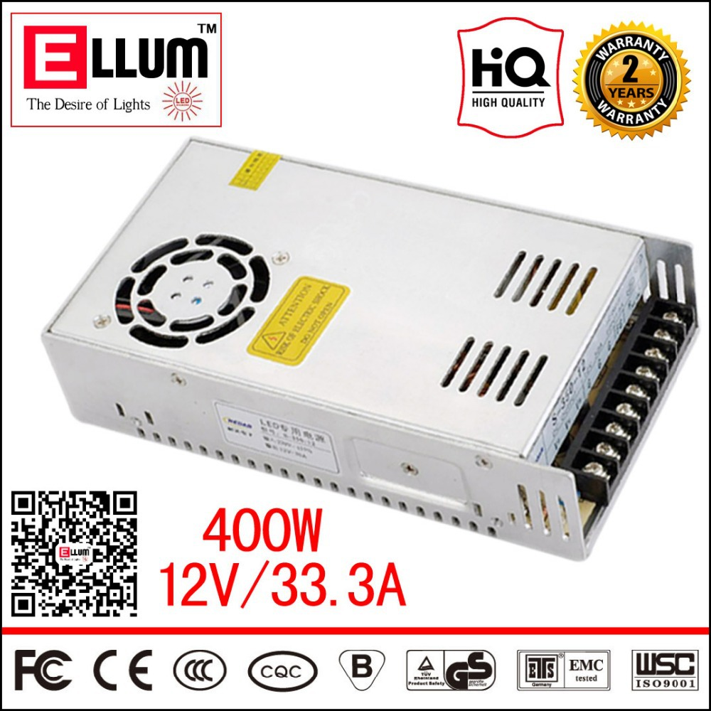 ФОТО S-400-12 Converter CE ROHS Approval 12V Step Down Electronic LED Transformer AC DC CNC Switching Mode Power Supply 12V 33A 400W