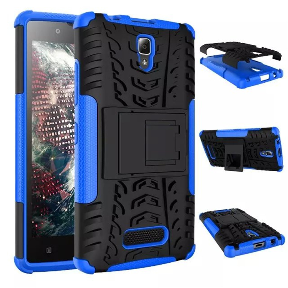 Mobile Phone Bags & Cases  Mobile Phone Bags & Cases: 2015 Christmas gift Lenovo A2010 Case New Back Case Mix Color TPU&PC Plastic Dual Armor case with Stand For Lenovo A 2010 Cover