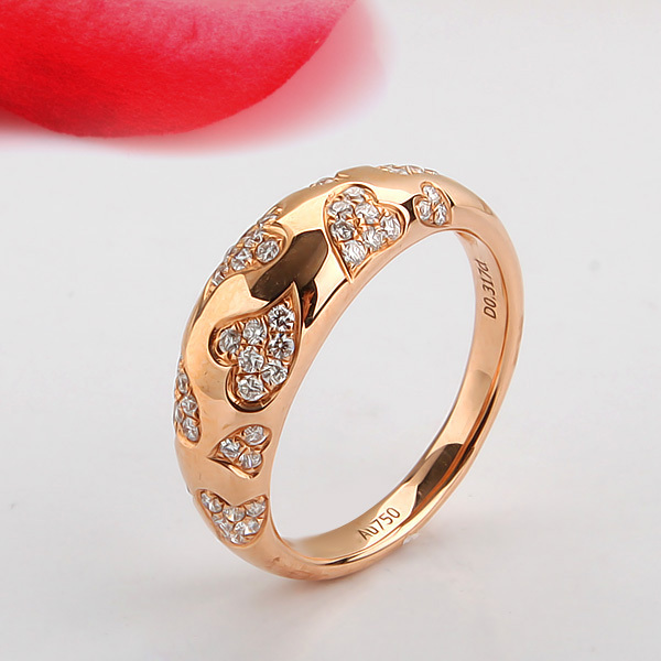 Engagement Rings For Girl In Gold