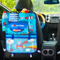 Cartoon Car Seat Back Storage Hang Bag Organizer Cute Animal Baby Product   Stowing     Tidying   Automobile Interior Accessories A1